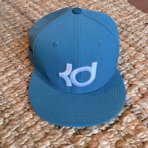 NIKE Kevin Durant SnapBack Hat BLUE/WHITE